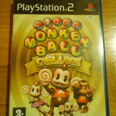 JOC PS2 SUPER MONKEY BALL DELUXE ORIGINAL PAL / by DARK WADDER - Jocuri PS2 Sega, Arcade, 3+, Multiplayer
