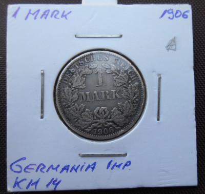 GERMANIA IMPERIU 1 MARK 1906 A KM 14 foto