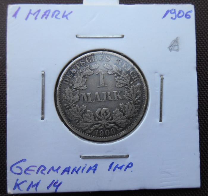 GERMANIA IMPERIU 1 MARK 1906 A KM 14