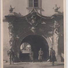 ALBA IULIA, CETATEA, POARTA DE VEST - Carte Postala Transilvania dupa 1918, Necirculata, Printata