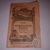 PLATON - SYMPOSION (OSPATUL) ~ B.P.T.~1103-1104 - Carte veche