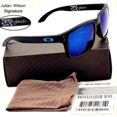 Ochelari de soare Oakley Holbrook Valentino Rossi signature sport moto , Unisex, Protectie UV 100%