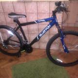Vanzare bicicleta mountain-bike Turmoil Silver Fox, 18 inch, 26 inch, Numar viteze: 7, Albastru
