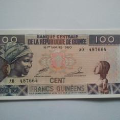 100 FRANCS GUINEENS 2012 REPUBLICA GUINEEA / REPUBLIQUE DE GUINEE UNC