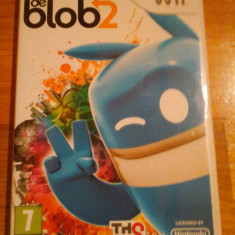 JOC WII DE BLOB 2 ORIGINAL PAL / by DARK WADDER - Jocuri WII Thq, Arcade, 12+, Multiplayer