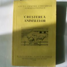 Cresterea animalelor - 1956 - Carti Zootehnie