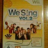 JOC WII WE SING vol.2 ORIGINAL PAL / by DARK WADDER - Jocuri WII Altele, Simulatoare, 12+, Single player
