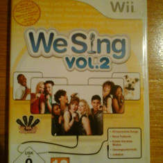 JOC WII WE SING vol.2 ORIGINAL PAL / by DARK WADDER - Jocuri WII, Simulatoare, 12+, Single player