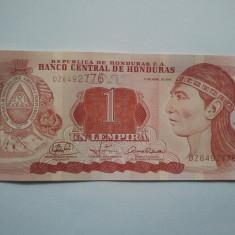 1 LEMPIRA 2008 HONDURAS UNC