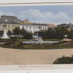 BRAILA, PROPRIETATEA D. IONESCU - Carte Postala Muntenia 1904-1918, Circulata, Printata