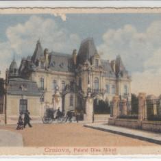 CRAIOVA, PALATUL DINU MIHAIL - Carte Postala Oltenia dupa 1918, Necirculata, Printata