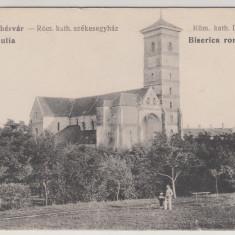 ALBA IULIA, BISERICA ROMANO-CATOLICA - Carte Postala Transilvania dupa 1918, Necirculata, Printata
