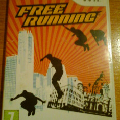 JOC WII FREE RUNNING ORIGINAL PAL / by DARK WADDER - Jocuri WII Altele, Sporturi, 12+, Multiplayer