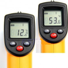 TERMOMETRU non - contact cu citirea temperaturii de la distant -50C la +330C