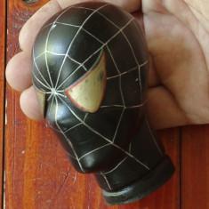 Marioneta pentru teatru de papusi - cap de papusa din cauciuc - Spiderman !! - Jucarie de colectie