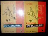 V.I.Popescu ,Cartea muncitorului de la tratamente termice (2 editii)