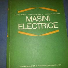 NASTASE BICHIR--MASINI ELECTRICE
