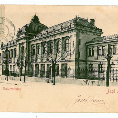2846 - IASI, University - old postcard - used - 1904 - TCV, Circulata, Printata