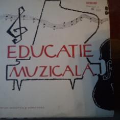 Educatie Muzicala editura didactica si pedagogica muzica copii disc vinyl lp - Muzica pentru copii electrecord, VINIL
