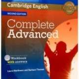 Complete Advanced Workbook with Answers + CD