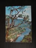 Carte postala - Valea Oltului la Cozia  / Valcea (anii 80)