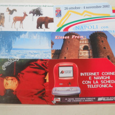 Cartele telefon Italia 6448/0 - Cartela telefonica straina
