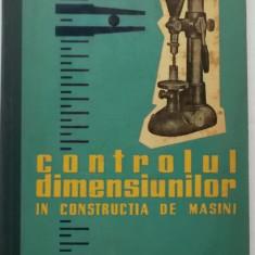 I.A. Grigoriev, E.R. Dvoretki - Controlul dimensiunilor in constructia de masini - Carti Mecanica
