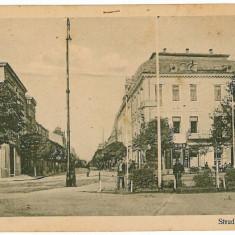 2832 - BRAILA, street Regala, Scout cancellation - old postcard - used - Carte Postala Muntenia 1904-1918, Circulata, Printata