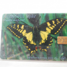 Cartela telefon Ungaria -plastic- 6444/0 - Cartela telefonica straina