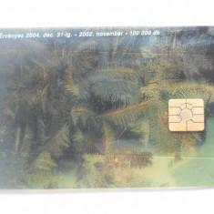 Cartela telefon Ungaria -plastic-6447/0