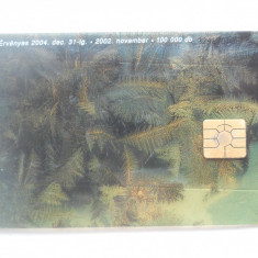 Cartela telefon Ungaria -plastic-6447/0 - Cartela telefonica straina