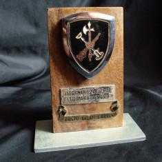 Placheta veche originala Legiunea Straina Spaniola TERCIO GRAN CAPITAN