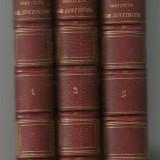 Ortolan / INSTITUTS DE JUSTINIEN - 3 volume, editie 1863