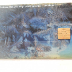 Cartela telefon Ungaria - plastic - 6446/0
