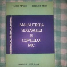Malnutritia sugarului si copilului mic Valeriu Popescu