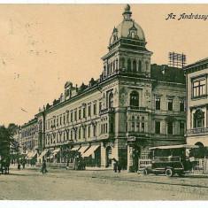 2864 - ARAD, Omnibus - old postcard - used - 1913 - Carte Postala Banat 1904-1918, Circulata, Printata