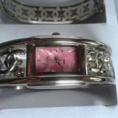 Set ceas cu bijuterii dama- NY LONDON - Lize Collection -4 piese (cod:832) - Set bijuterii placate cu aur Energie