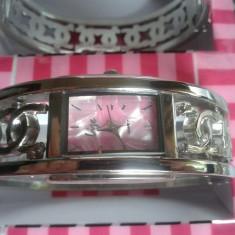 Set ceas cu bijuterii dama- NY LONDON - Lize Collection -4 piese (cod:831) - Set bijuterii placate cu aur Energie