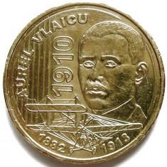 ROMANIA, AUREL VLAICU, 50 BANI 2010, TIRAJ 5000 EXEMPLARE ! - Moneda Romania