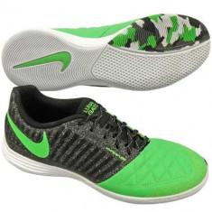Barbati 45.5 - Noi! Pantofi sport, marca NIKE Lunargato II - Adidasi barbati Nike, Culoare: Verde, Piele naturala