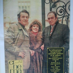 REVISTA CINEMA { NUMARUL 2 ANUL 1976 }