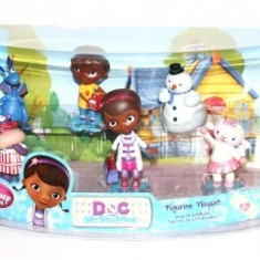 Disney Junior Doc McStuffins Figurine Playset - Figurina Desene animate Disney, 2-4 ani, Unisex
