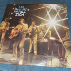 DISC VINIL THE BEST OF KAREL ZICH - Muzica Rock & Roll