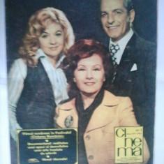 REVISTA CINEMA { NUMARUL 1 ANUL 1977 }