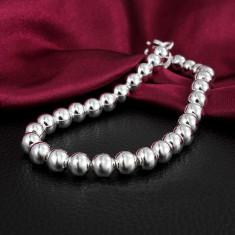 Bratara margele argint 925; 20.5 cm lungime - Bratara argint