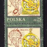 Timbre POLONIA 1982 = ISTORIA HARTILOR - Timbre straine