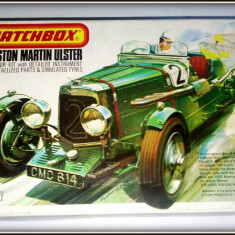 Macheta RARA MATCHBOX Kit ASTON MARTIN ULSTER PK-301 / 1975 Lesney (incompleta) - Macheta auto Matchbox, 1:32