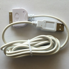 Cablu USB Apple iPhone, iPod, iPad - Cablu de date Apple, iPhone 3G/3GS