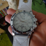 LADIES/GIRLS Large Face , Leather Strap by DIESEL TIME
