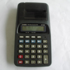 CALCULATOR CASIO HR 8B, CU PRINTARE PE ROLA . - Calculator Birou